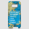 I'm a flight attendant - Phone Case