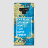 I'm a flight attendant - Phone Case airportag.myshopify.com