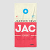 JAC - Beach Towel - Airportag