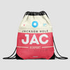 JAC - Drawstring Bag - Airportag