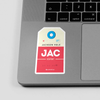 JAC - Sticker - Airportag
