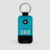 JAX - Leather Keychain - Airportag