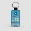 JED - Leather Keychain - Airportag