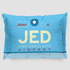 JED - Pillow Sham - Airportag