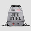 Jet Fuel - Drawstring Bag - Airportag