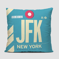 JFK - Throw Pillow