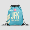 JFK - Drawstring Bag