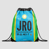 JRO - Drawstring Bag - Airportag