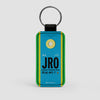 JRO - Leather Keychain - Airportag