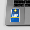 KBP - Sticker