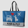Kiss and Fly - Weekender Bag - Airportag