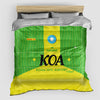 KOA - Duvet Cover - Airportag