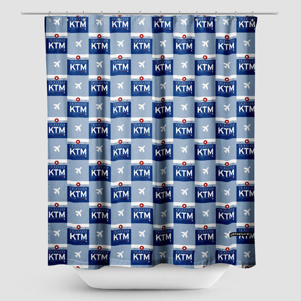 Shower Curtain Inspired On Travel Themes Tagged Asia Airportag