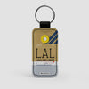 LAL - Leather Keychain - Airportag