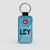 LCY - Leather Keychain
