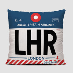 LHR - Throw Pillow