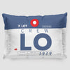 LO - Pillow Sham - Airportag