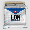 LON - Duvet Cover - Airportag