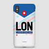 LON - Phone Case - Airportag