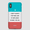 Look at Airplanes - Phone Case