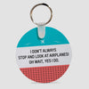 Look at Airplanes - Keychain - Airportag