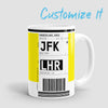 Luggage Ticket - Mug airportag.myshopify.com