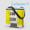 Luggage Ticket - Tote Bag airportag.myshopify.com
