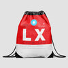 LX - Drawstring Bag - Airportag