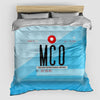 MCO - Duvet Cover - Airportag
