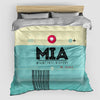 MIA - Duvet Cover - Airportag