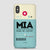 MIA - Phone Case