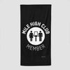 Mile High Club - Beach Towel - Airportag