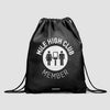 Mile High Club - Drawstring Bag - Airportag