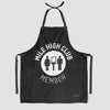 Mile High Club - Kitchen Apron - Airportag