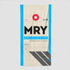 MRY - Beach Towel - Airportag