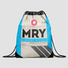 MRY - Drawstring Bag - Airportag