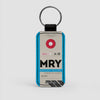 MRY - Leather Keychain - Airportag