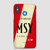MSY - Phone Case - Airportag