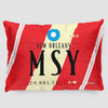 MSY - Pillow Sham - Airportag