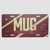 MUC - License Plate - Airportag