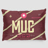 MUC - Pillow Sham - Airportag