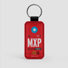 MXP - Leather Keychain - Airportag