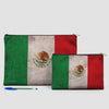 Mexican Flag - Pouch Bag - Airportag