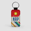 NAP - Leather Keychain