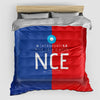 NCE - Duvet Cover - Airportag