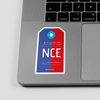 NCE - Sticker - Airportag