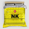 NK - Duvet Cover - Airportag