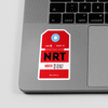 NRT - Sticker - Airportag