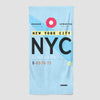 NYC - Beach Towel - Airportag