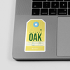 OAK - Sticker